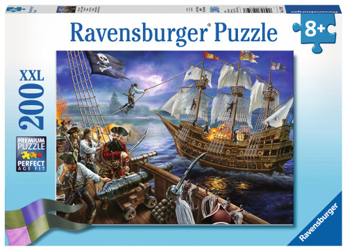 Blackbeard's Battle - 200pc Jigsaw Puzzle By Ravensburger
