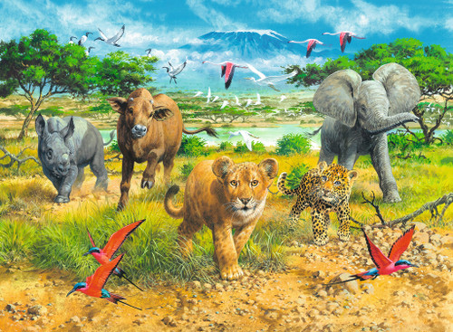Big Five Babies - 300pc Jigsaw Puzzle By Ravensburger