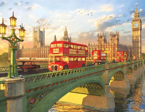 Westminster Bridge - 500pc Jigsaw Puzzle By Springbok