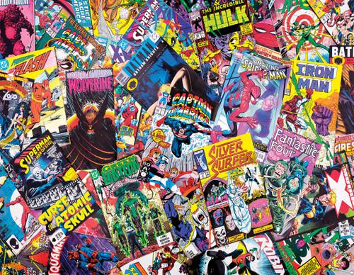 Comic Book Galore - 1000pc Jigsaw Puzzle By Springbok
