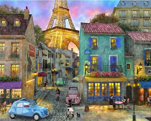 Eiffel Magic - 1000pc Jigsaw Puzzle By Springbok