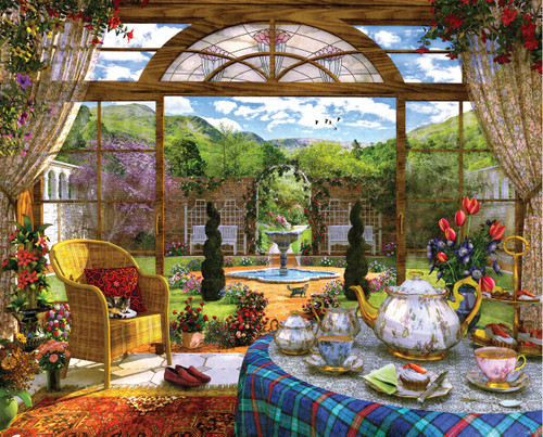 The Conservatory - 1000pc Jigsaw Puzzle By Springbok