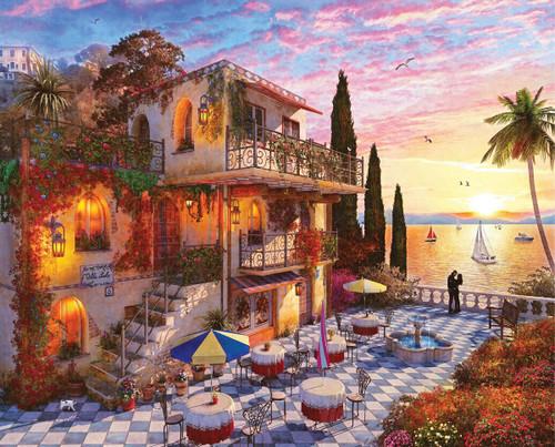 Mediterranean Romance - 1000pc Jigsaw Puzzle By Springbok