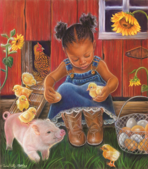 Barn Babies - 300pc Jigsaw Puzzle by Sunsout