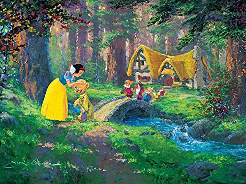 James Coleman: Snow White, A Sweet Goodbye - 550pc Jigsaw Puzzle by Ceaco
