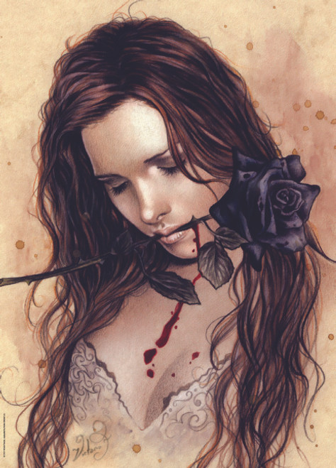 Jigsaw Puzzles - Favole: Dark Rose
