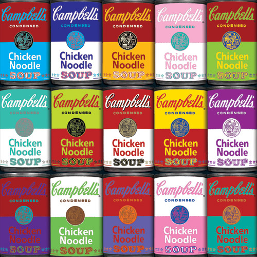 Jigsaw Puzzles - World's Most Difficult: Campbell's Souper Hard