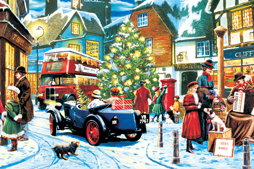 Jigsaw Puzzles - Christmas Streets