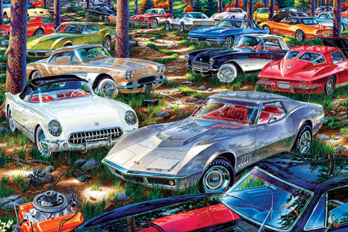 Jigsaw Puzzles - Corvette Dreams