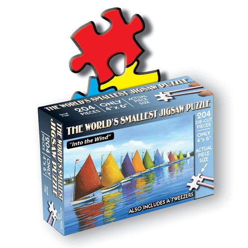 World's Smallest Jigsaw Puzzle: Into The Wind - 204pc TDC Miniature Jigsaw Puzzle