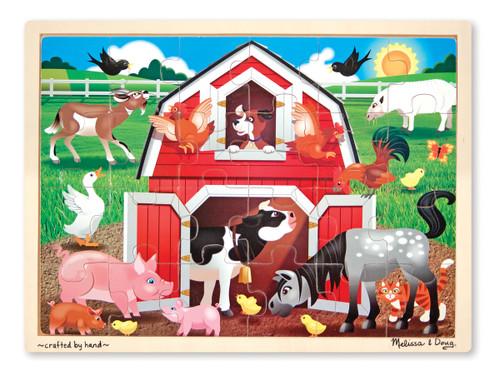 Melissa & Doug Barnyard Buddies Jigsaw Puzzle