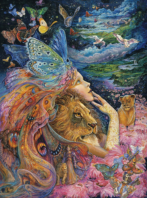 Josephine Wall: Heart and Soul (Glitter Edition) - 1000pc Jigsaw Puzzle By Buffalo Games