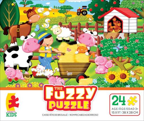 Fuzzy Puzzle: Farm by Ceaco (discon)