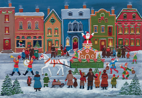 Christmas Parade - 1000pc Jigsaw Puzzle by Lang