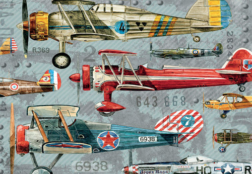 Planes - 1000pc Jigsaw Puzzle by Lang