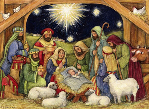 Nativity - 1000pc Jigsaw Puzzle by Lang