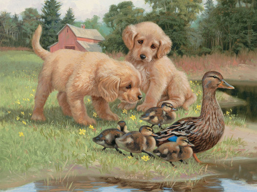 Follow the Leader - 500pc Jigsaw Puzzle by Lang
