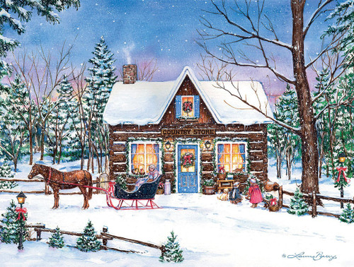 Magical Evening - 500pc Jigsaw Puzzle by Lang