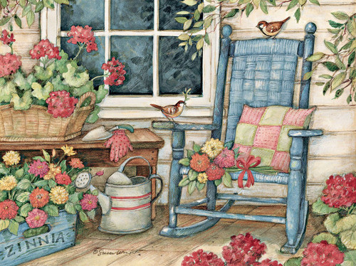 Rocking Chair - 500pc Jigsaw Puzzle by Lang