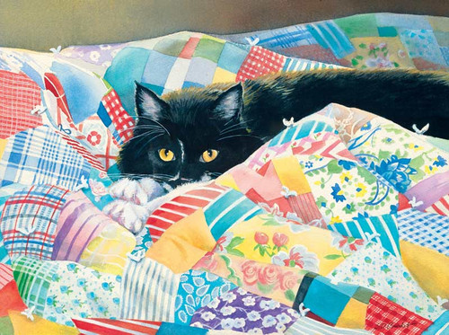Grandma's Quilt - 500pc Jigsaw Puzzle by Lang
