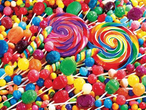 Kodak: Lollipop Swirls - 350pc Jigsaw Puzzle by Lafayette Puzzle Factory