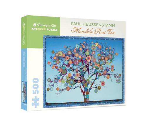 Heussenstamm: Mandala Fruit Tree - 500pc Jigsaw Puzzle by Pomegranate