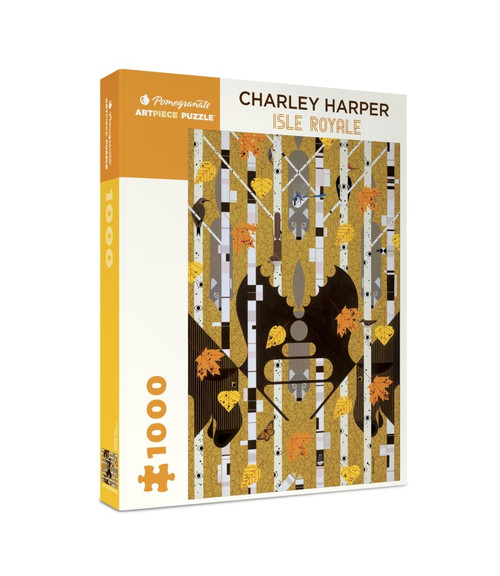 Charley Harper: Isle Royale - 1000pc Jigsaw Puzzle by Pomegranate