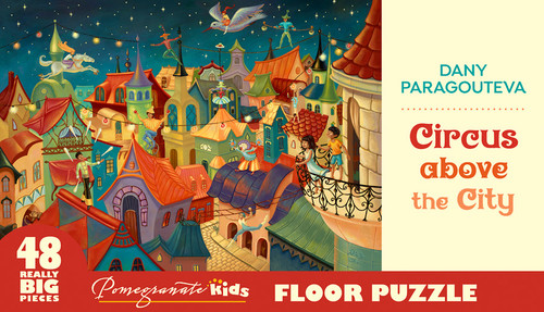 Circus Above the City - 48pc Floor by Pomegranate