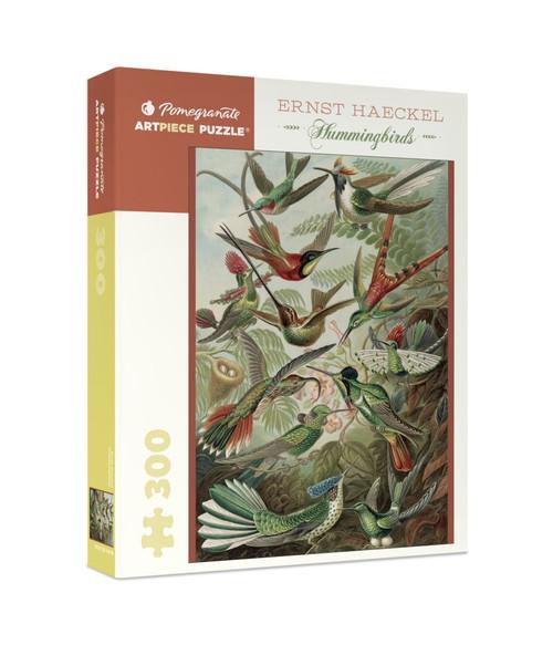 Haeckel: Hummingbirds - 300pc Jigsaw Puzzle by Pomegranate