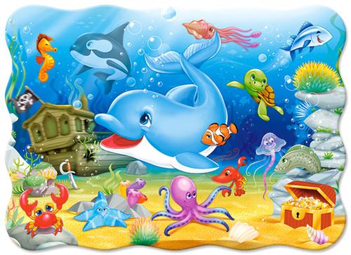 Underwater Friends - 30pc Jigsaw Puzzle By Castorland (discon-28484)