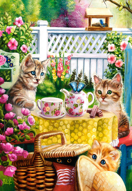 Teatime - 1000pc Jigsaw Puzzle By Castorland