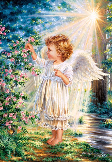 An Angel's Touch - 1000pc Jigsaw Puzzle By Castorland