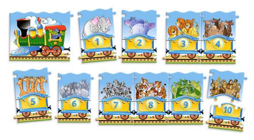 Train - 21pc Jigsaw Puzzle By Castorland
