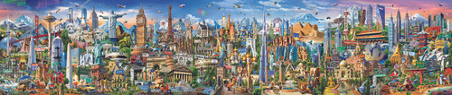 Around the World - 42000pc Jigsaw Puzzle By Educa
