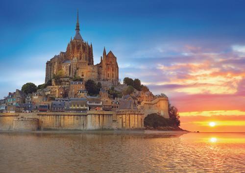 Mont Saint Michel, France - 1000pc Jigsaw Puzzle by Educa