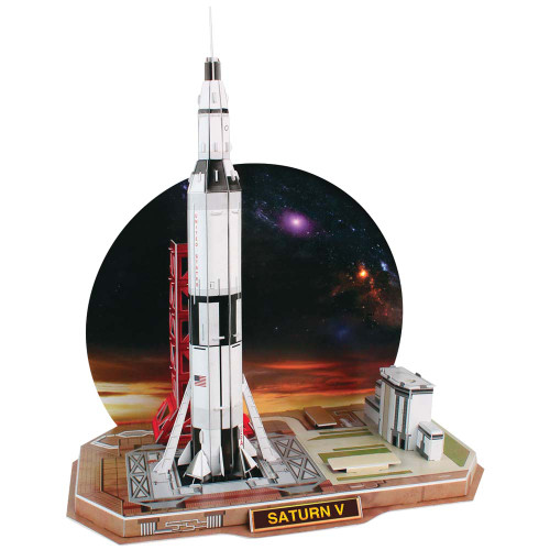 Saturn V Rocket - 68pc 3D Jigsaw Puzzle by Daron