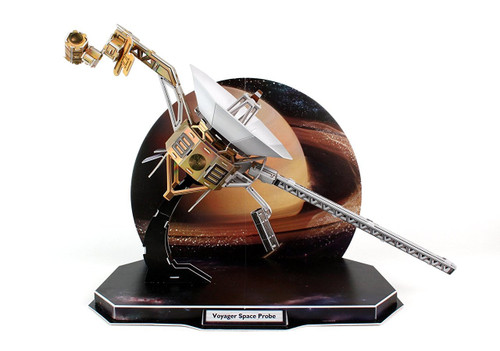 Voyager Space Probe - 71pc 3D Jigsaw Puzzle by Daron