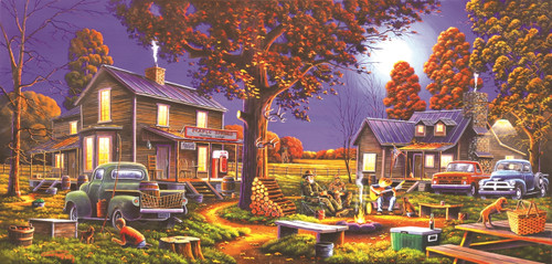 Maple Spring Retreat - 1000pc Jigsaw Puzzle By Sunsout
