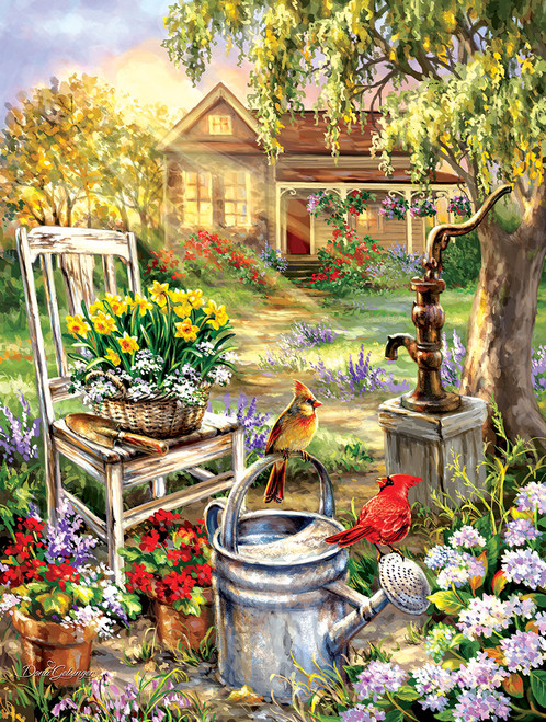 Spring Song - 500pc Jigsaw Puzzle by Sunsout