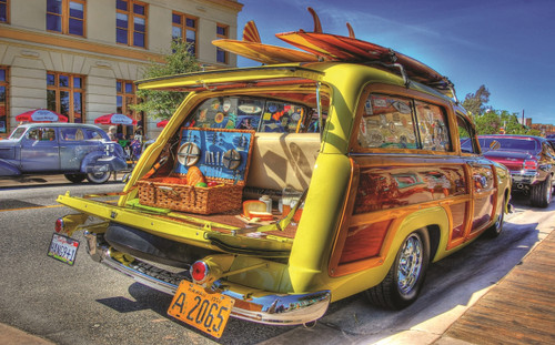Woody Wagon - 300pc Large Format Jigsaw Puzzle by Sunsout