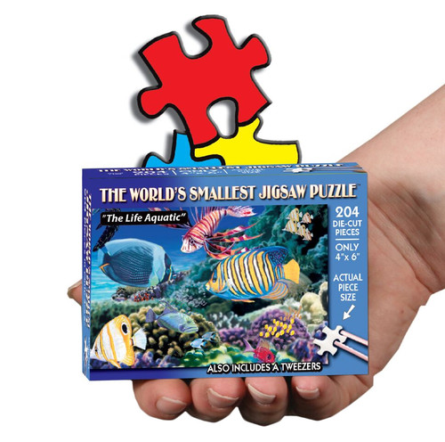 The Life Aquatic - 234pc TDC Miniature Jigsaw Puzzle