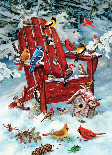 Adirondack Birds - 1000pc Jigsaw Puzzle By Cobble Hill