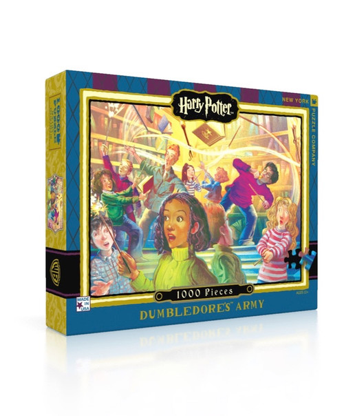 Dumbledore's Army - 1000pc Jigsaw Puzzle by New York Puzzle Company
