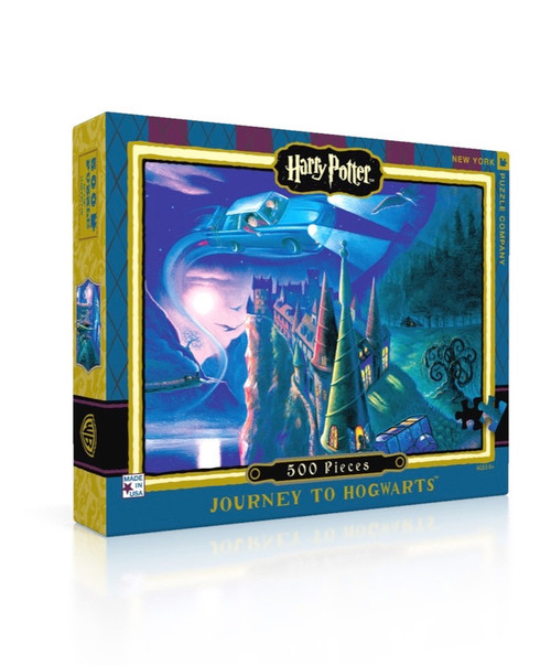 Journey to Hogwarts - 500pc Jigsaw Puzzle by New York Puzzle Company
