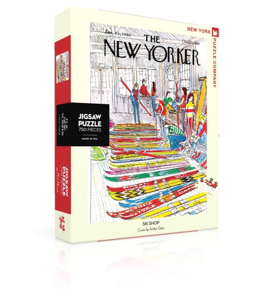Ski Shop - 750pc Jigsaw Puzzle by New York Puzzle Company