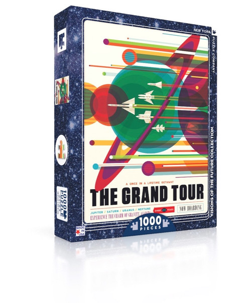 The Grand Tour - 1000pc Jigsaw Puzzle by New York Puzzle Company