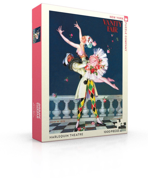 Harlequin Theater - 1000pc Jigsaw Puzzle by New York Puzzle Company