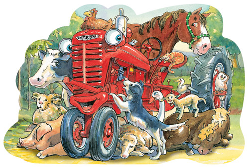 Tractor Mac - 36pc Floor Puzzle by Masterpieces