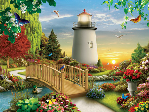 Dawn of Light - 750pc Jigsaw Puzzle by Masterpieces
