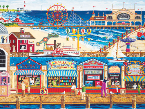 Ocean Park - 400pc Jigsaw Puzzle by Masterpieces